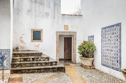 Foto op Canvas Tuin Wooden door Portugal
