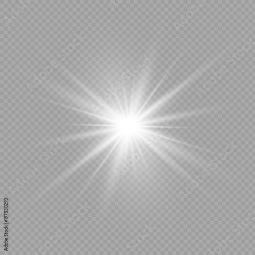 Obraz Light flare special effect. Illustration. - fototapety do salonu