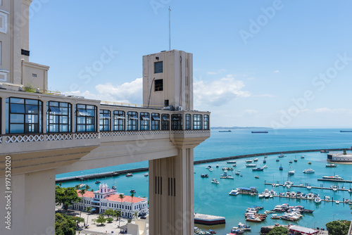 Fotografie, Obraz  Elevador Lacerda, Salvador, Bahia
