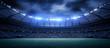 canvas print picture - The stadium