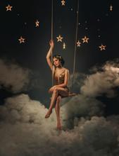 An Asterisk Girl, Swinging On ...