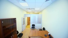 Interior Of Small Empty Office...