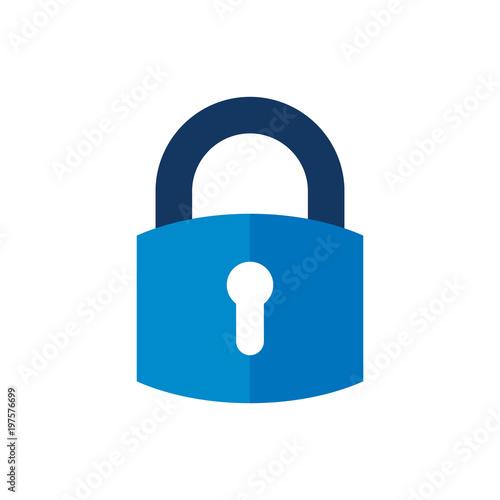 Fotomural  Security Logo Icon Design