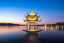 Jixian Pavilion In Hangzhou China
