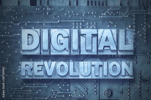 Valokuva digital revolution - pc