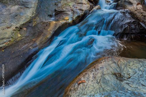 Foto  .Mae Sa waterfall in Doi Suthep and  Doi Pui national park,Chiang Mai,Thailand