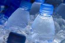 Water Bottle In Ice,fresh Water