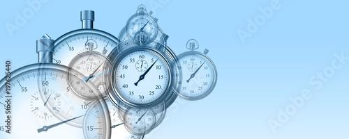 Fotografia, Obraz  Temps et chronomètres performance arrière-plan