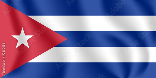 Fotografija Flag of Cuba