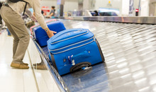 Blurry Picture Of Suitcase On ...