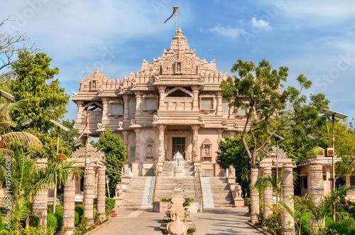 Stickers pour porte Delhi Borij Derasar, a Jain Temple in Gandhinagar - Gujarat, India