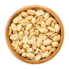 Peanuts, Roasted And Salted, I...