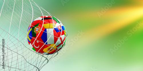 Photographie  Fußball im Tor WM 2018