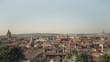 Incredible skyline view of Rome from the Terrazza Viale del Belvedere