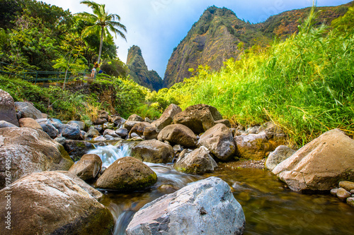 Iao Needle, Maui Fototapeta