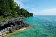 Lake Michigan Shoreline In Doo...