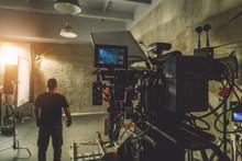 Camera Dolly In The Studio