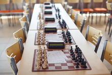 Chess Tournament Tables With C...