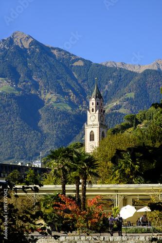 Italy, South Tyrol, Meran, St. Nicholas' Church