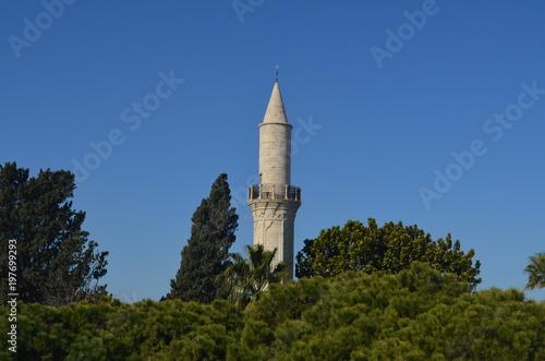 Fotografia  Minaret Mosque Limassol