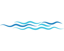 Water Wave Vector Illustration...