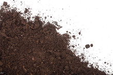 Pile Heap Of Soil Isolated On ...