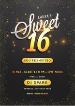Invitation Card Design For Swe...