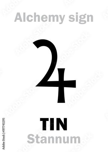 Alchemy Alphabet Tin Stannum Plumbum Album One Of Seven Ancient