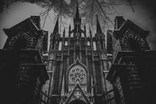 Gothic Catholic Cathedral.