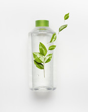 Transparent Liquid Bottle With...