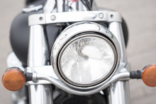 Front Light On The Vintage MIL...