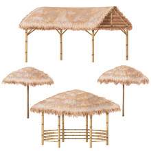 Tropic Gazebo And Parasol  Set