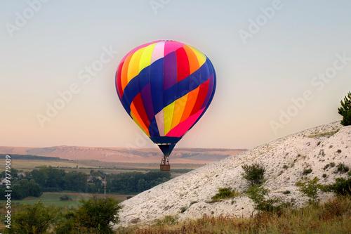 Montage in der Fensternische Luftsport Hot air balloon