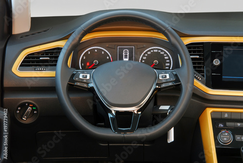 Photo steering wheel