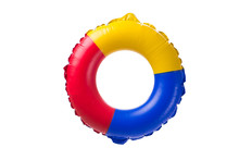 Life Ring Buoy Isolated On Whi...