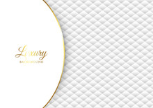 Luxury Background With White Q...