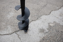 Detail Of New Auger