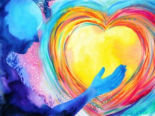 human and love spirit power...