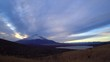 Sunset with cloudscape / Mt.Fuji