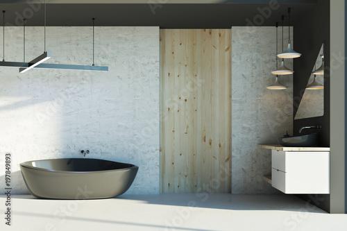 Cadres-photo bureau Pays d Europe New bathroom with sunlight