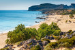 Beautiful Falassarna beach on Crete Island, Greece