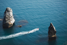 Man Riding Jet Ski In Sea