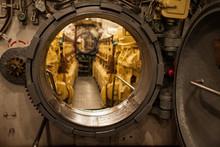Inside Submarine Opened Hatchway