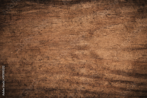 Photo Stands Wood Old grunge dark textured wooden background,The surface of the old brown wood texture,top view brown wood panelitng