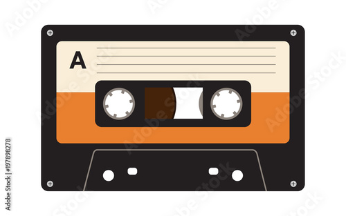 Audio Cassette Wallpaper Mural