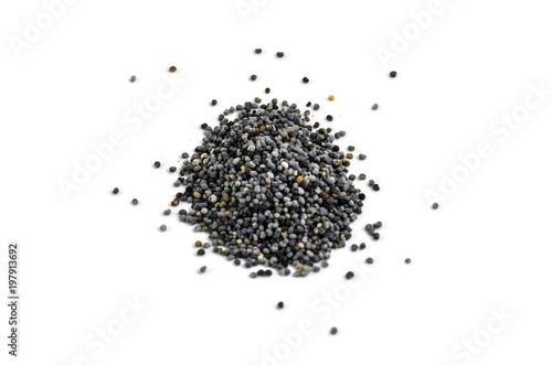 Canvas Prints Poppy Pile of poppy seeds