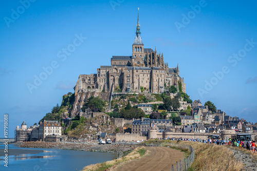 Fotografie, Obraz  Mont saint Michel - Normandy - France