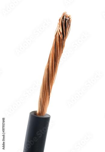 Fotografía  Coaxial cable macro