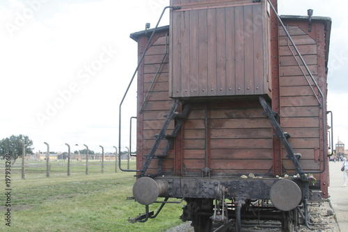 Poland Birkenau concentration camp Canvas-taulu