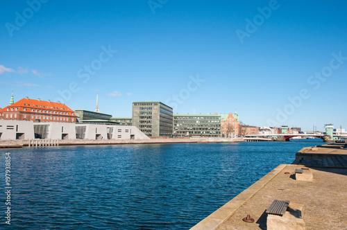 Photo  city of Copenhagen in Denmark